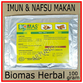 Biomas Herbal 100 gram Mensana
