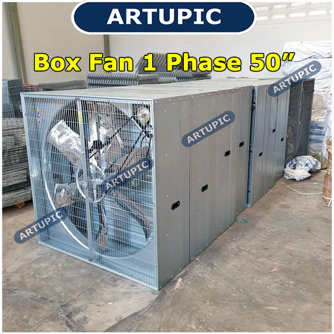Blower Exhaust Boxfan 1 phase