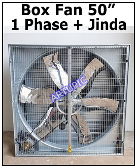 Box Fan Blower 1 Phase 50 inch
