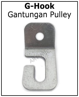 G-Hook Gantungan Pulley