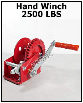 Handwinch 2500 lbs