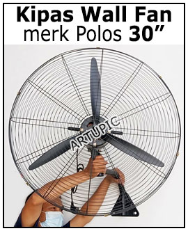 Kipas Dinding wall fan 30