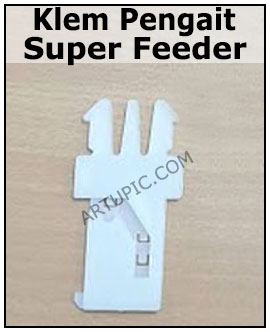 Klem pengait super feeder