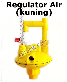 Regulator Air Kuning