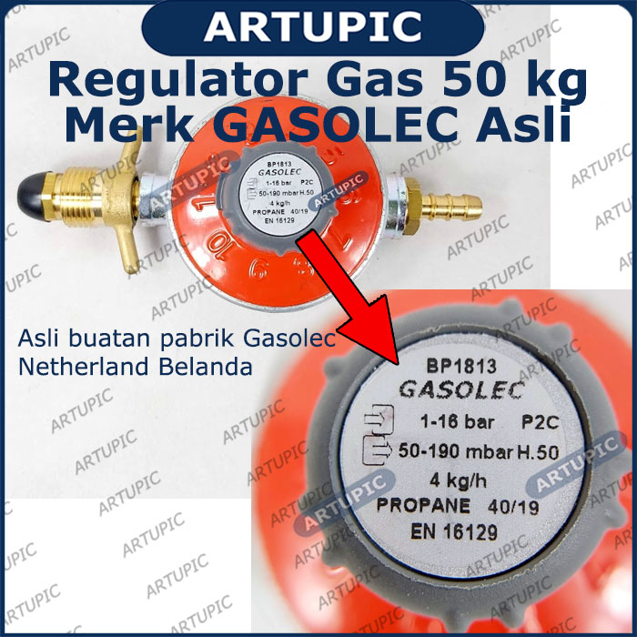Regulator gas besar 50 kg