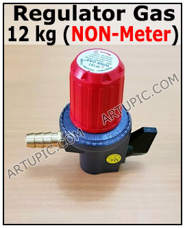 Regulator gas 12 kg non meter w 181 nm
