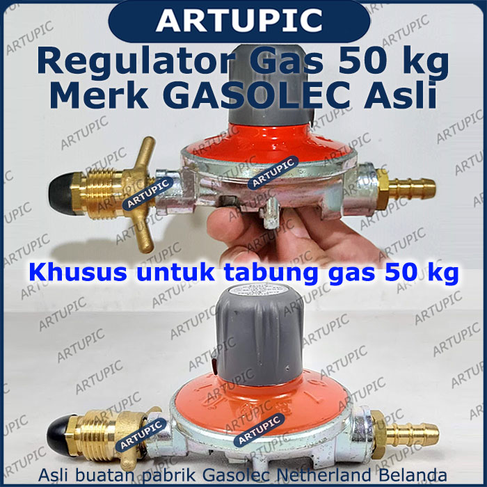 Regulator gas 50 kg