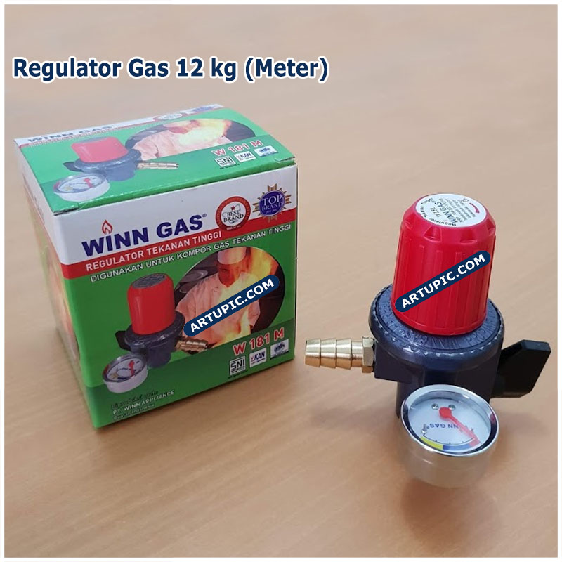 regulator gas 3kg 12kg win winn gas