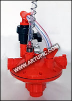 Regulator Air Merah