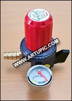 Regulator gas 12 kg meter w181m