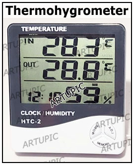 Temperatur Thermohygrometer HTC 2