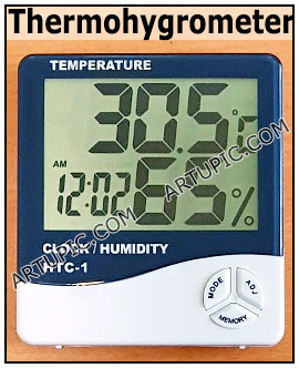 Thermohygrometer Thermometer